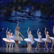 Multiple-camera shooting the ballet «Swan Lake»