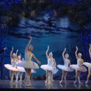 Multiple-camera shooting the ballet «Swan Lake»