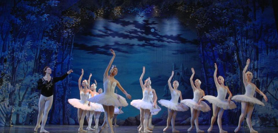 Многокамерная съемка балета «Лебединое озеро» для Русского Балета