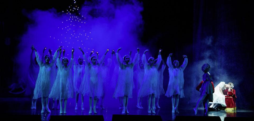 Многокамерная съемка балета