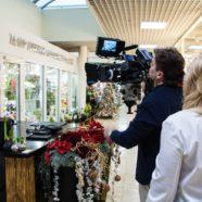 Съемка телевизионного рекламного ролика