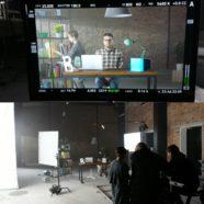 Монтаж на съемочной площадке Evapolar